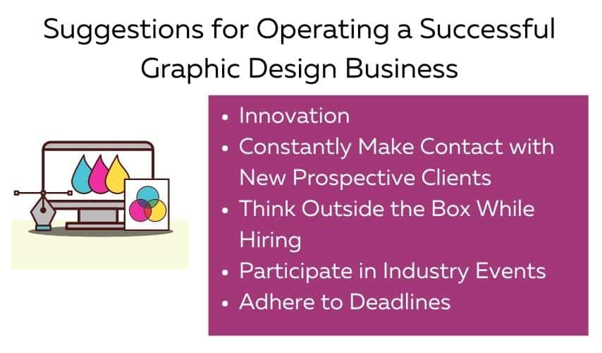 Tips for successful graphic design business