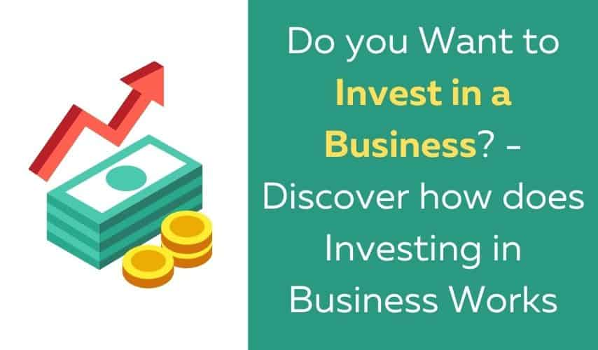 how does investing in a business work