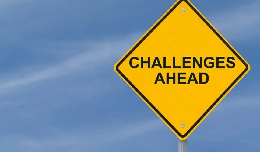 What are challenges of starting a business