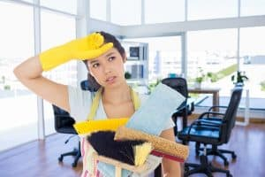 How do i start a cleaning business with no money