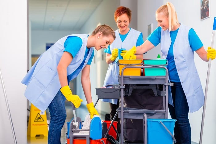How to start a commercial cleaning business with no money